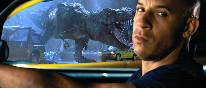 fast and furious jurassic park crossover