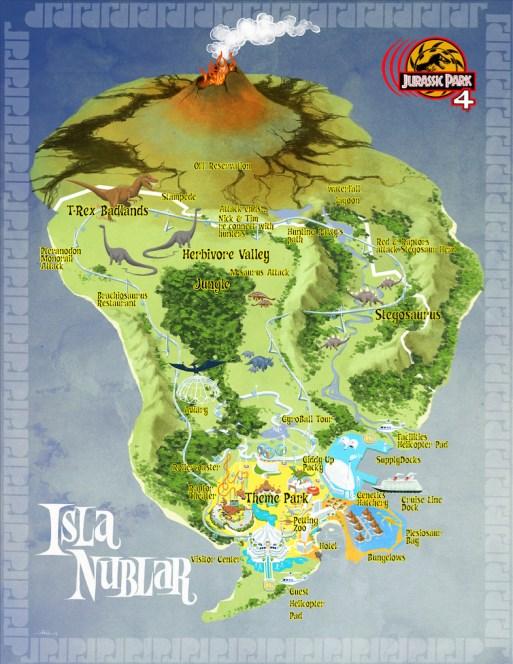 John Bell - Jurassic World Concept Art