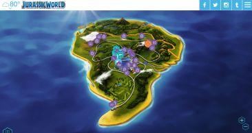 Jurassic World Map Icons