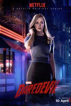Karen Daredevil Character Poster