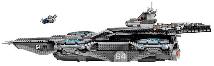 Lego Avengers Helicarrier 4