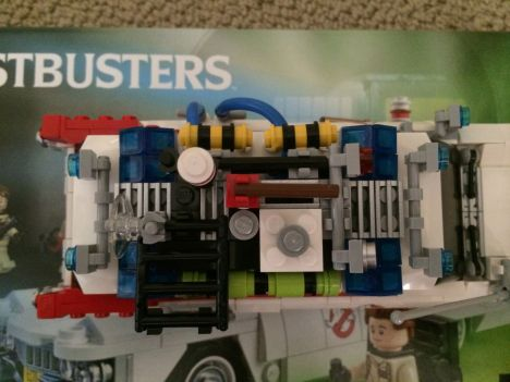 Lego Ghostbusters Ecto-1 9