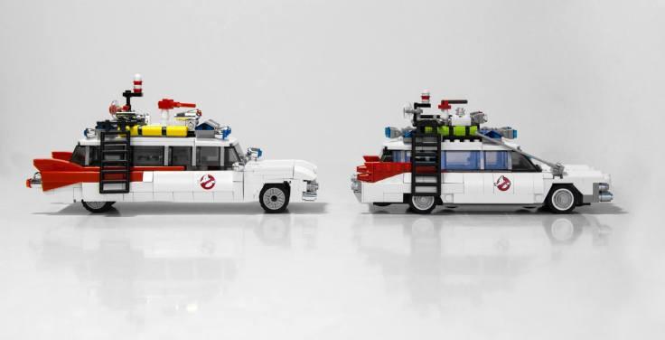 Lego Ghostbusters comparison 9