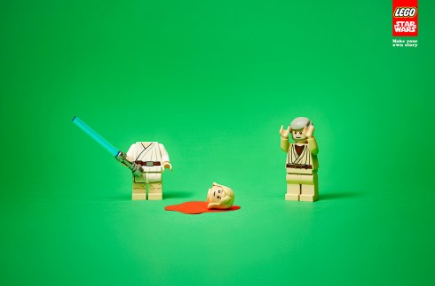 Lego Star Wars: Head
