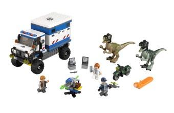 Lego Jurassic World Raptors