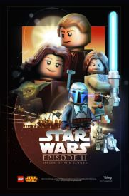 Lego Star Wars Episode 2 Poster