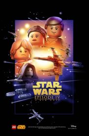 Lego Star Wars Episode 4 Poster