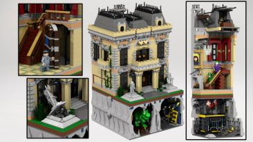 Lego Wayne Manor 3
