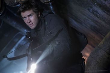 Liam Hemsworth as Gale in The Hunger Games Mockingjay Part 2