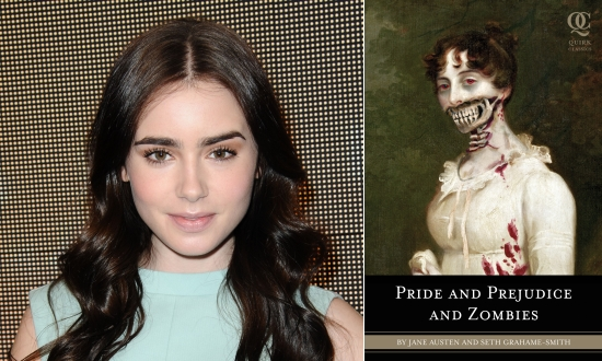 Lily Colins / Pride and Prejudice and Zombies