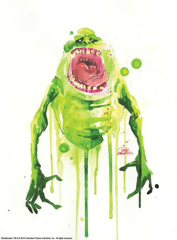 Lora Zombie - Slimer