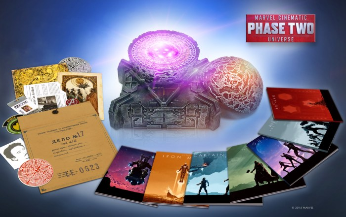 marvel cinematic universe phase two collectors set