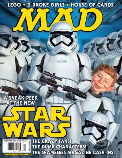 Mad Magazine Star Wars Force Awakens Cover
