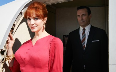 Mad Men Season 7 - Joan and Don