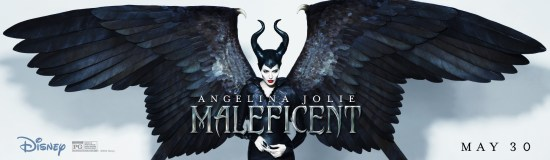 Maleficent wings banner