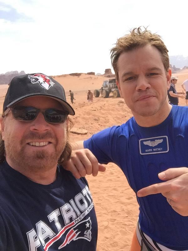 Matt Damon The Martian Super Bowl