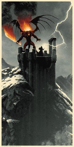 Matt Ferguson's Lord of the Rings Trilogy Print Set bagend Zirakzigil