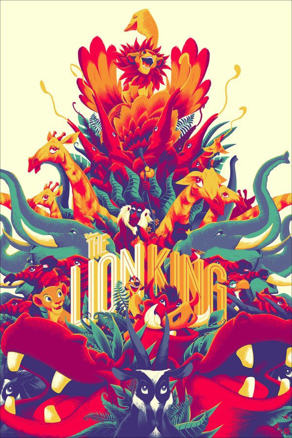 Favorite Pieces Mondo' Disney Art Show