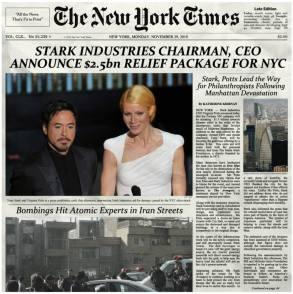 Mediavengers - NYT Stark Industries
