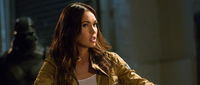 Megan Fox as April O'Neil in Teenage Mutant Ninja Turtles Out of the Shadows
