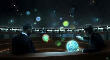 Men in Black 3 - Galaxarium concept art
