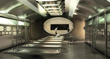 Men in Black 3 - Morgue concept art 1