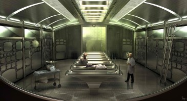 Men in Black 3 - Morgue concept art 2