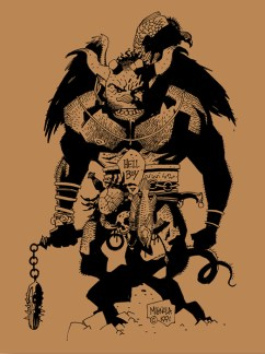 Mike Mignola - First Hellboy A