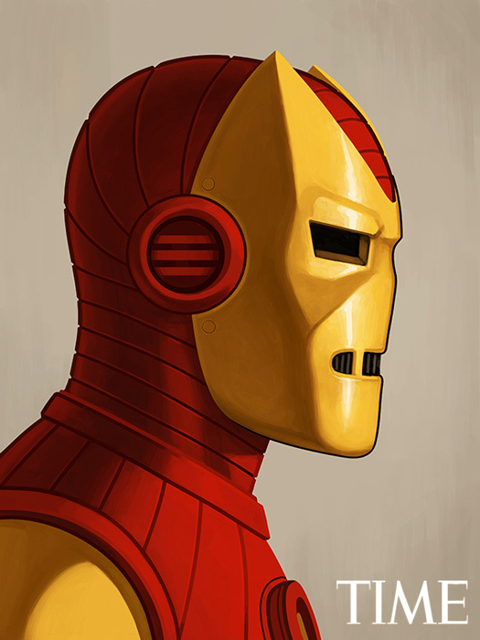 Mike Mitchell - Iron Man