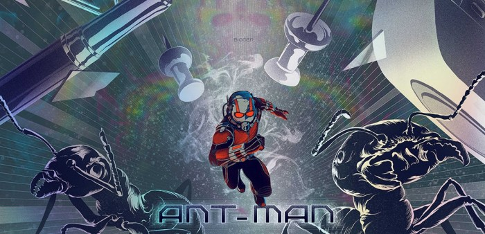 ant-man easter eggs - mondo comic con 2015 kevin tong ant-man
