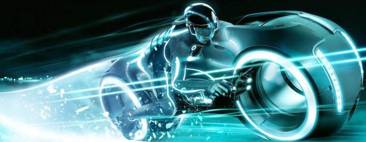 TRON Lightcycle Power Run in Shanghai Disneyland