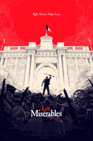 Olly Moss - Les Miserables