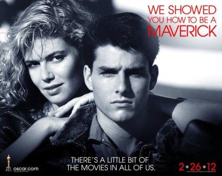 Oscars 2012 Top Gun