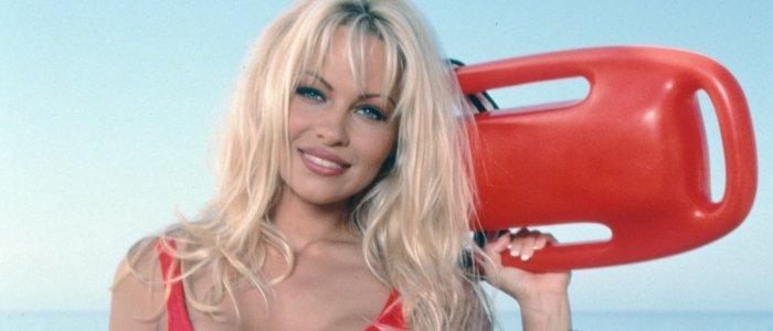 Pamela Anderson as CJ Parker in Baywatch