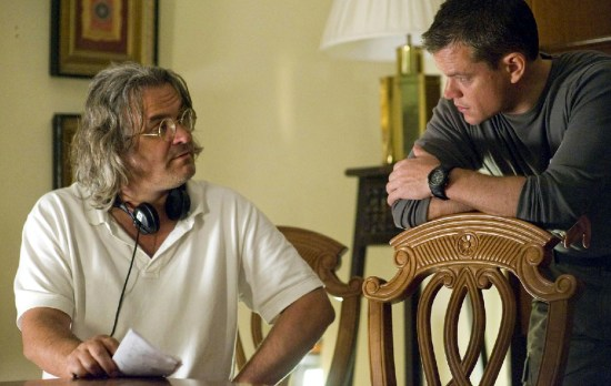 Paul Greengrass directing Green Zone