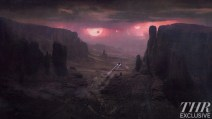 Prometheus concept art - planet