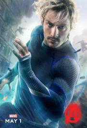 Quicksilver Avengers Character poster