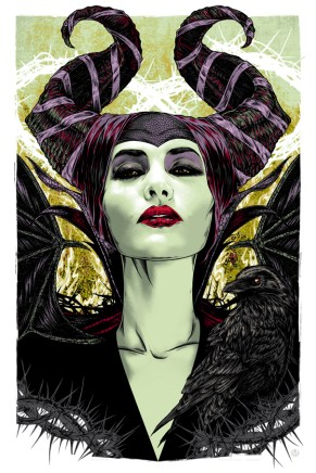 MALEFICENT solo print fin