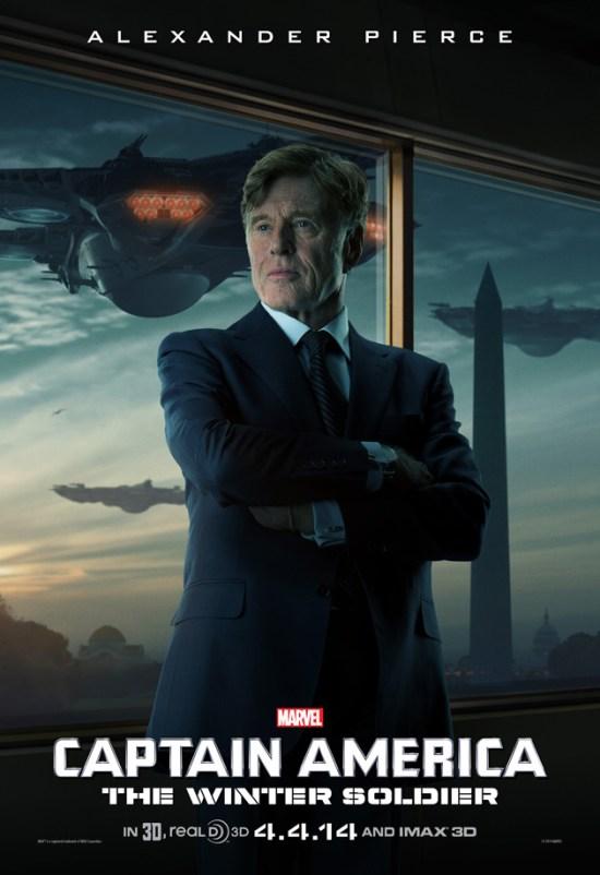 Robert Redford Captain America poster