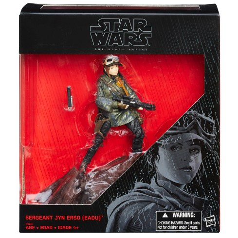 STAR WARS: THE BLACK SERIES 6-Inch JYN ERSO (Mountain Base)
