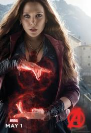 Scarlet Witch Avengers Character Poster