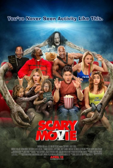 Scary Movie 5 poster (SFW)