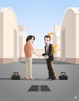 Seth Patrick – The Big Lebowski x Reservoir Dogs x Pink Floyd