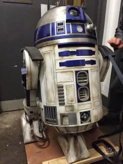 Star Wars 7 R2 D2 Photo