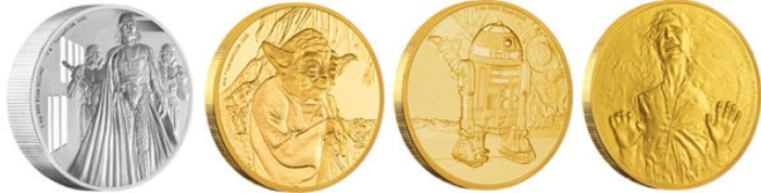 Star Wars Characters Collectible Coins