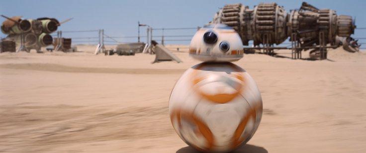 Star Wars The Force Awakens bb-8 2