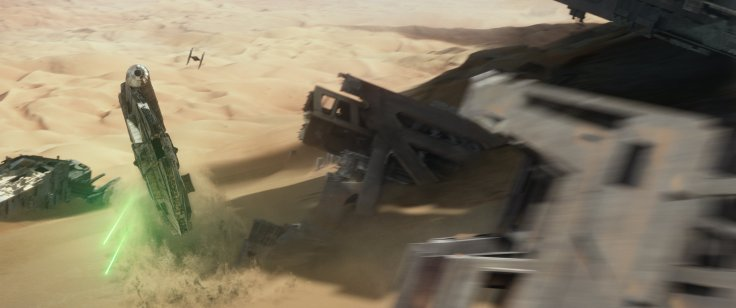 Star Wars The Force Awakens jakku 3