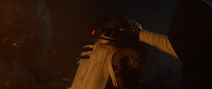 Star Wars The Force Awakens luke skywalker r2-d2