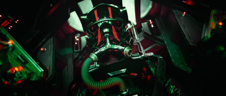 Star Wars The Force Awakens tie fighter pilot
