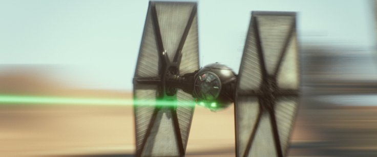 Star Wars The Force Awakens tie fighter